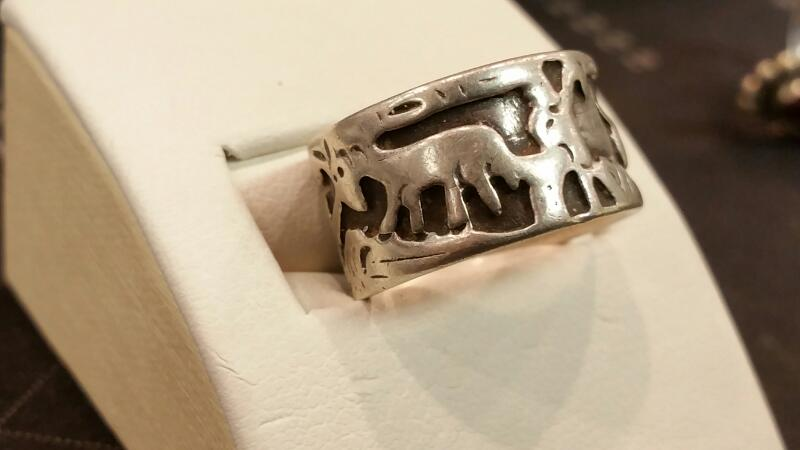 Gent's Silver Ring 925 Silver 3.6dwt Size:6