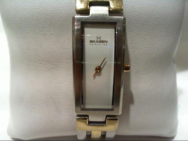 SKAGEN Lady's Wristwatch SP28GS
