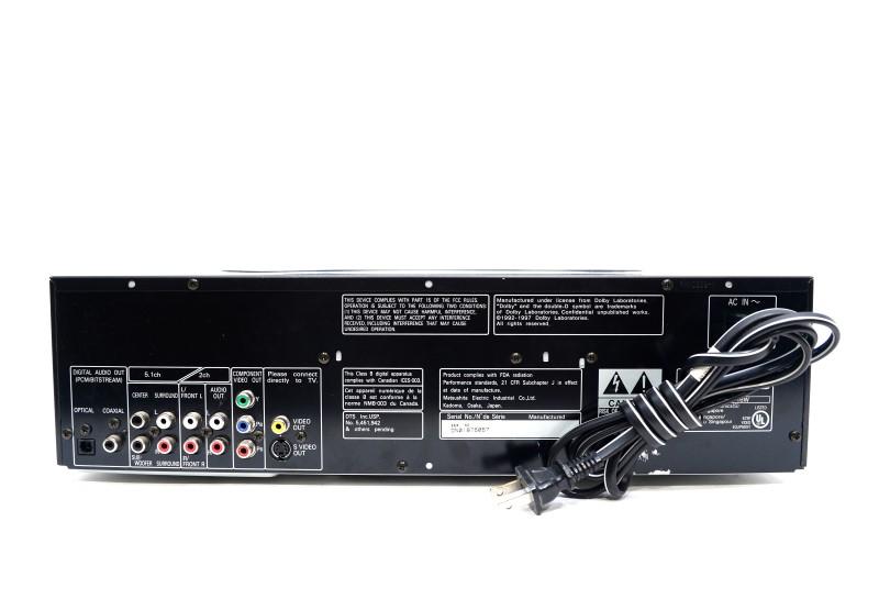 Panasonic DVD-CV50 5 Disc DVD/CD Player Dolby Digital  w/Remote>