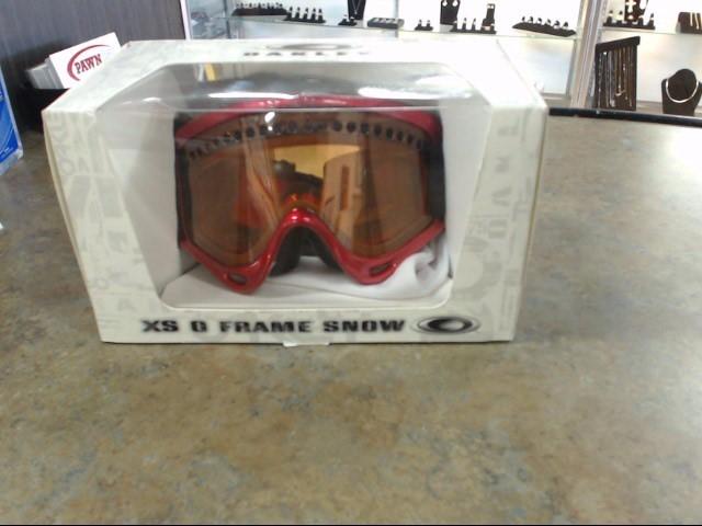 OAKLEY Miscellaneous Safety Gear SNOW GOOGLES WISDOM