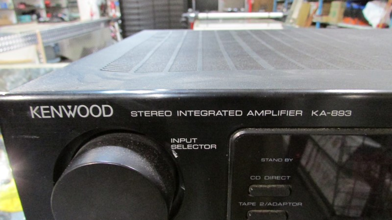 KENWOOD Amplifier KA-893