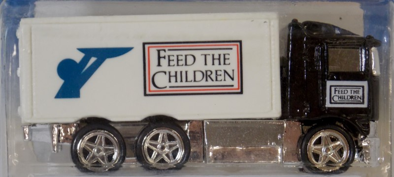 HOT WHEELS LIMITED EDITION FEED THE CHILDREN HELPFUL HAULER