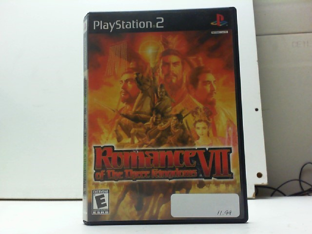 SONY Sony PlayStation 2 Game ROMANCE OF THE THREE KINGDOMS VII