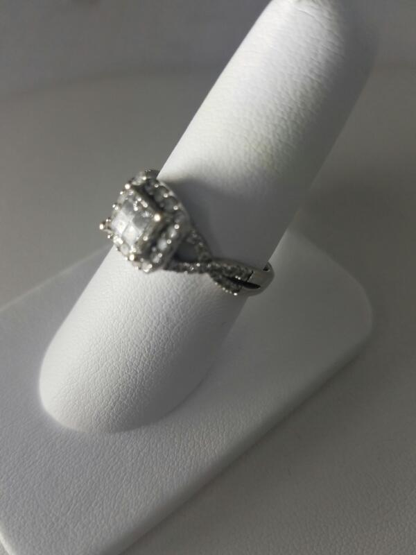 L'S 14KT Lady's Diamond Fashion Ring DIAMOND 4 Diamonds .40 Carat T.W.