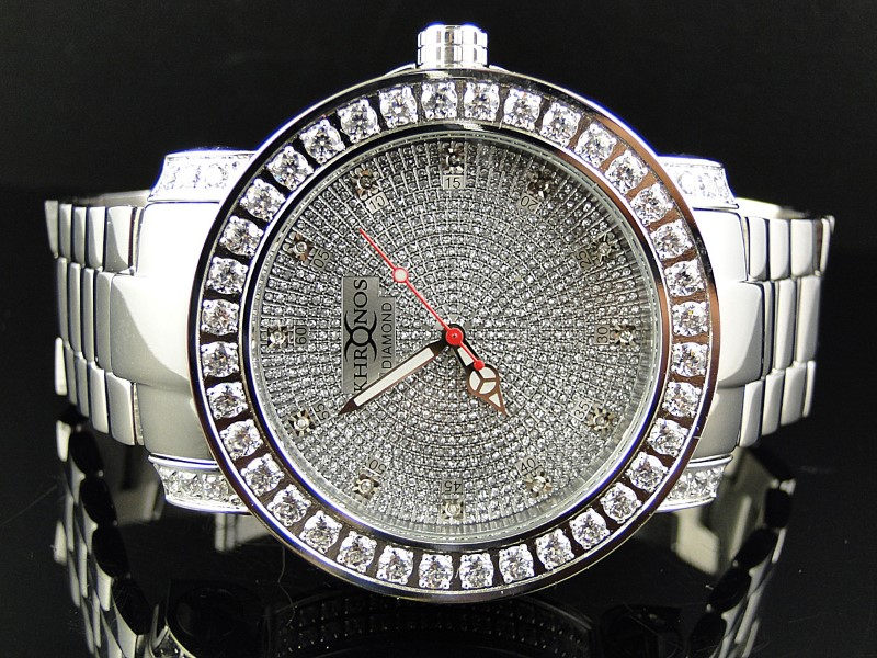 KHRONOS Gent's Wristwatch DIAMOND