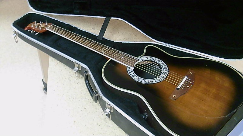 Ovation 1527 6 String Acoustic Electric Guitar w/ Case