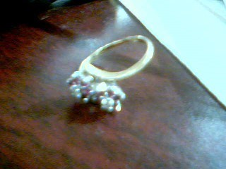 Lady's Gold Ring 10K Yellow Gold 2.7g