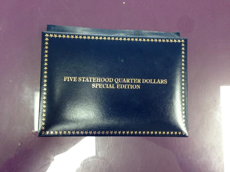 FIVE STATEHOOD QUARTER DOLLAR  SPECIAL EDITION