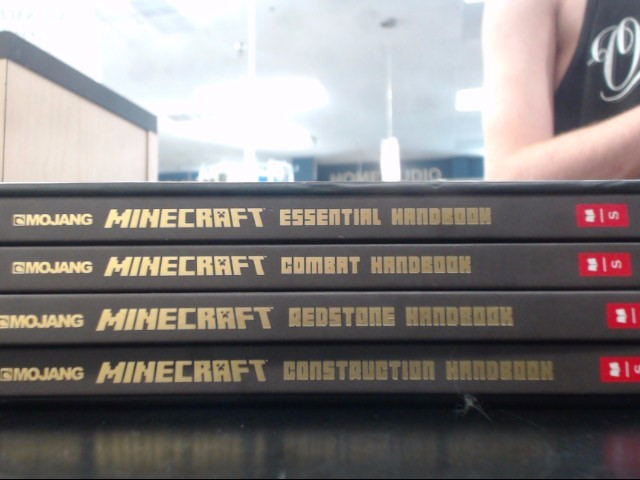 MOJANG Sony PlayStation 3 Game THE COMPLEAT HANDBOOK COLLECTION MINECRAFT