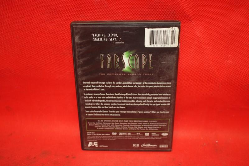 Farscape: The Complete Season Three (DVD, 2009, 6-Disc Set) FREE SHIPPING
