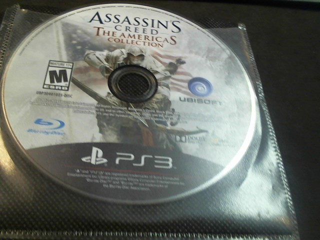 SONY PS3 ASSASSINS CREED
