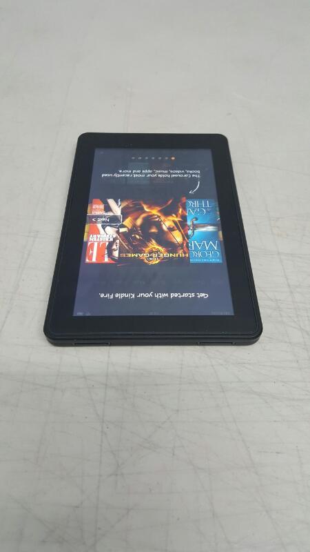 "Amazon Kindle Fire (1st Gen) 8GB, Wi-Fi, 7"" - Black D01400"
