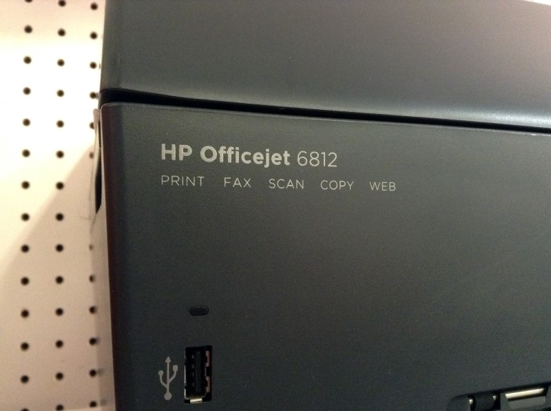HEWLETT PACKARD Printer OFFICEJET 6812
