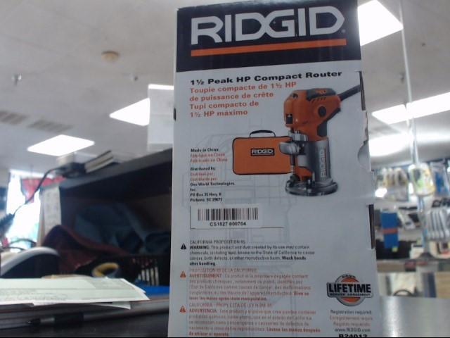 RIDGID TOOLS Router R24012
