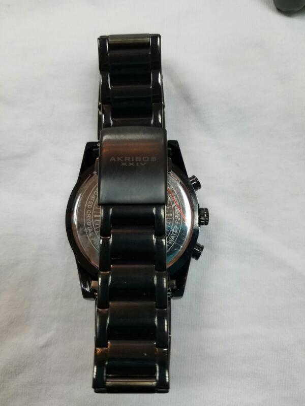 AKRIBOS Gent's Wristwatch AK736BK