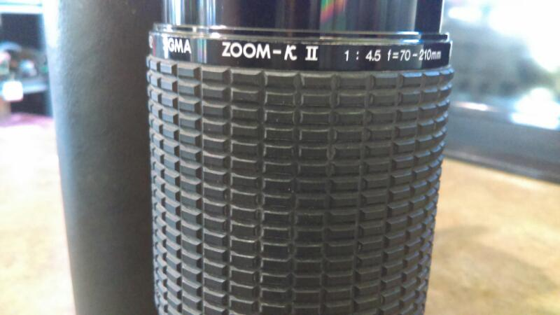 SIGMA ZOOM-K II (70-210MM) MULTI-coated