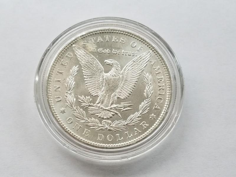1889 MORGAN SILVER $1 (UNC)