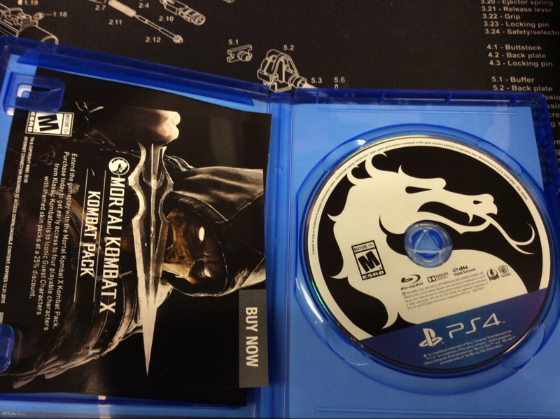 SONY Sony PlayStation 4 Game MORTAL KOMBAT X - PS4