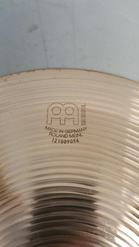 "Meinl 8"" Classics Medium Bell Cymbal"
