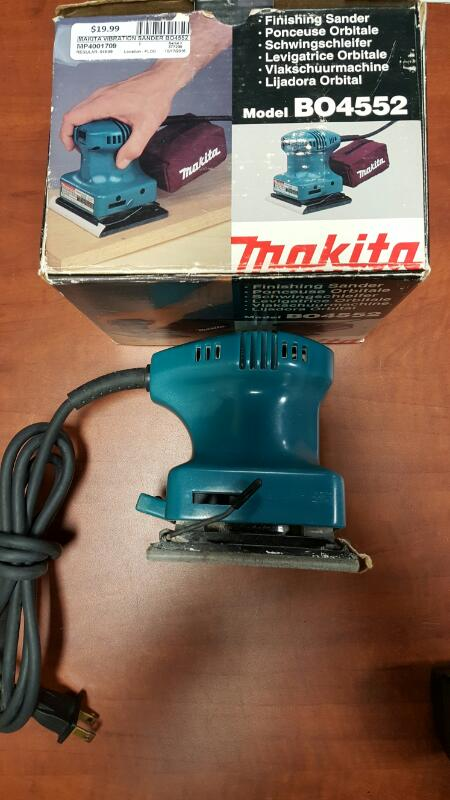 MAKITA Vibration Sander BO4552