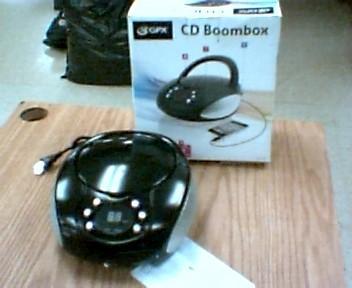 GPX Portable CD Player CD BOOMBOX BC112B