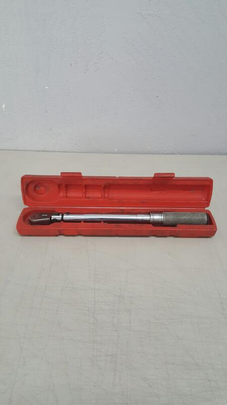 "Snap-On QD2FR75 3/8"" Dr. Click Type Flex-Ratchet Torque Wrench"