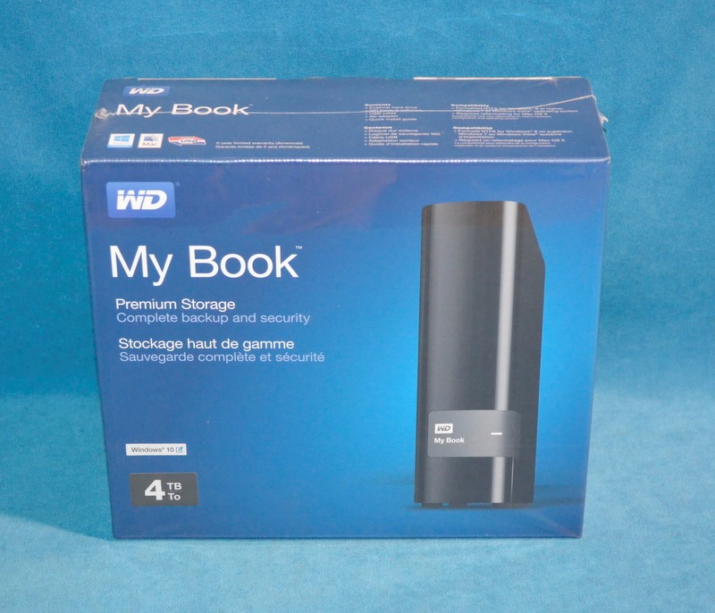 WESTERN DIGITAL Computer Accessories MY BOOK 4TB