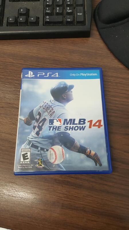 SONY Sony PlayStation 4 Game MLB THE SHOW 14 - PS4