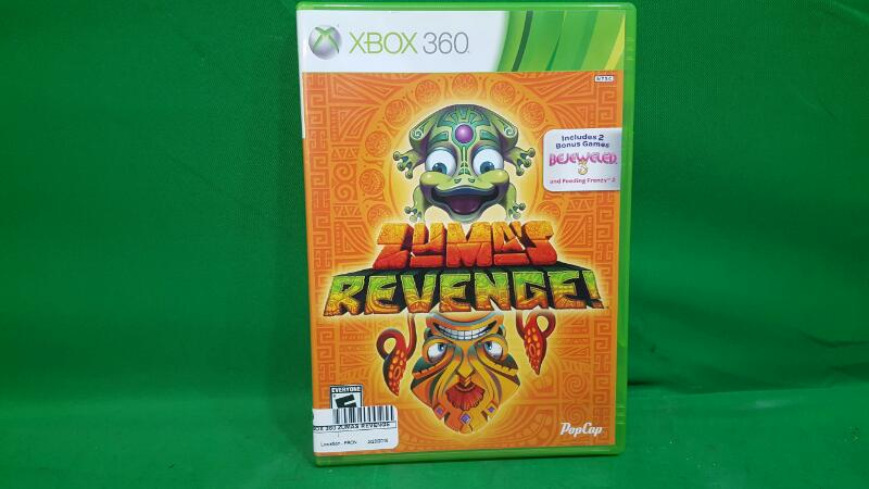 MICROSOFT Microsoft XBOX 360 Game ZUMAS REVENGE