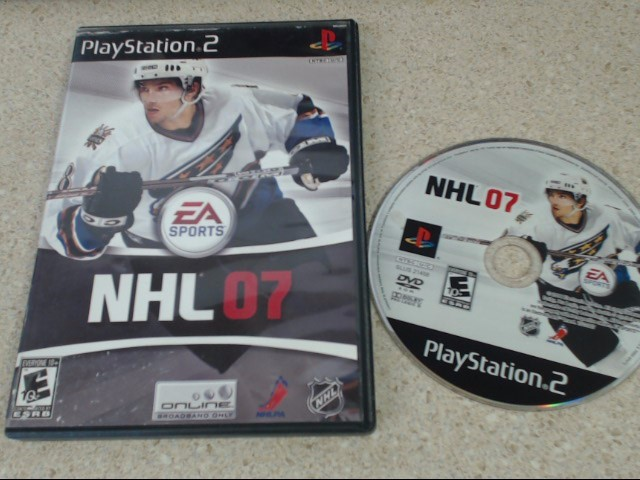 NHL 07 - Playstation 2 Game