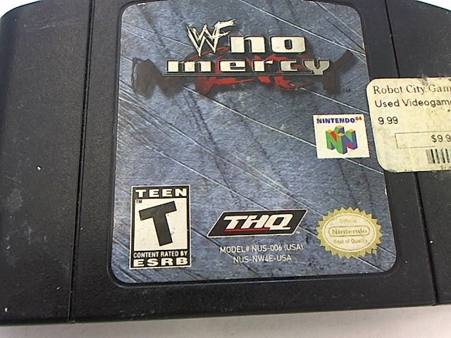 N64 - WWF NO MERCY