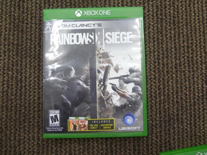 RANIBOW  SIX SIEGE XBOX ONE GAME