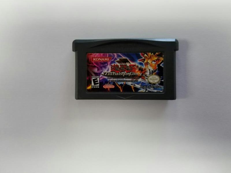 NINTENDO GBA Gameboy Advance YU-GI-OH 7 TRIALS TO GLORY Cart Only