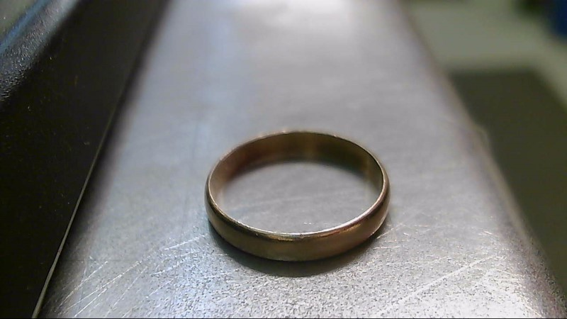 Gent's Gold Wedding Band 10K Yellow Gold 1.7g Size:9.5