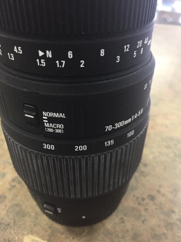 SIGMA Lens/Filter DG 70-300MM