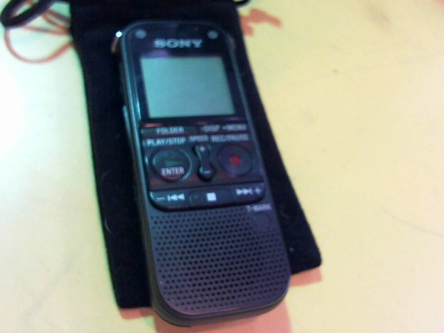 SONY Micro Recorder ICD-AX412