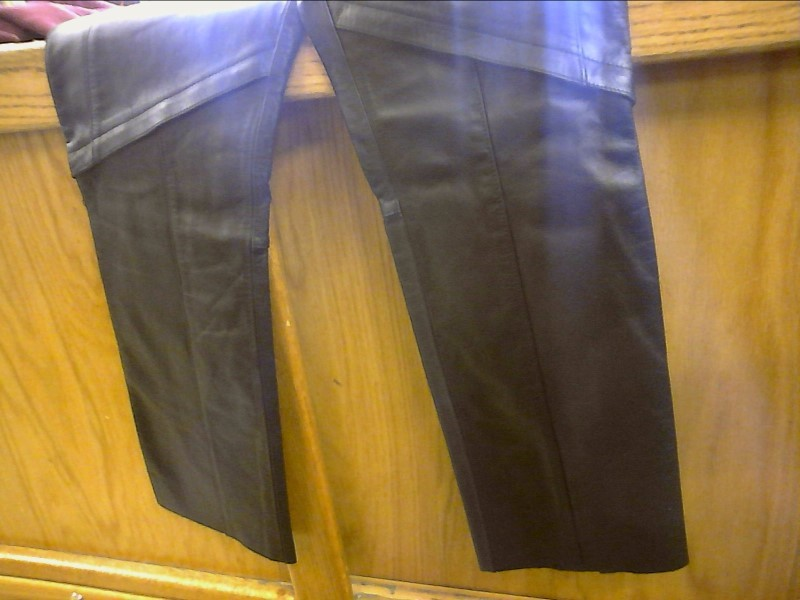 HARLEY DAVIDSON LEATHER WOMENS PANTS, Size 30