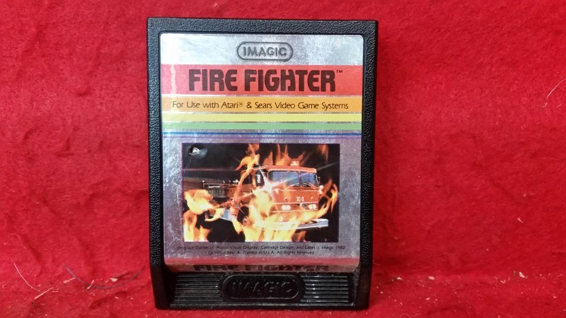 Fire Fighter (Atari 2600, 1982) Cartridge Only