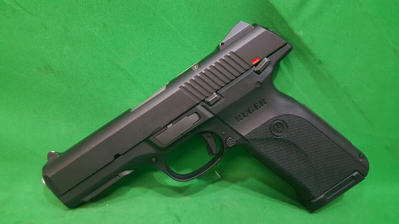RUGER Pistol SR45 45ACP BLACK/POLY 10+1 AS