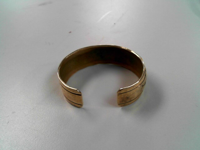 Brass Bracelet 925 Silver 39.5g