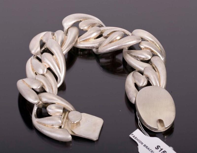 Silver Fashion Bracelet 925 Silver 52.6g