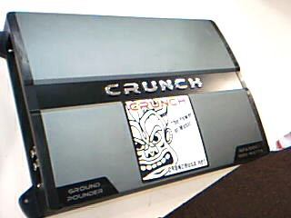 CRUNCH AUDIO Car Audio GPA1000.1