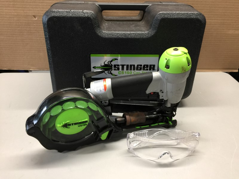 STINGER CS150 PNEUMATIC CAP STAPLER
