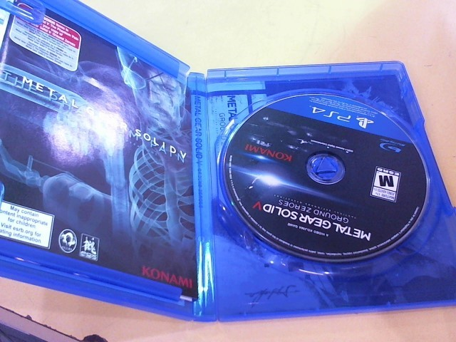 SONY Sony PlayStation 4 Game METAL GEAR SOLID V PS4