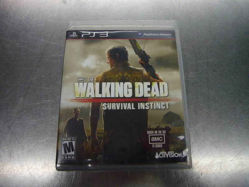 SONY PlayStation 3 Game THE WALKING DEAD SURVIVAL INSTINCT