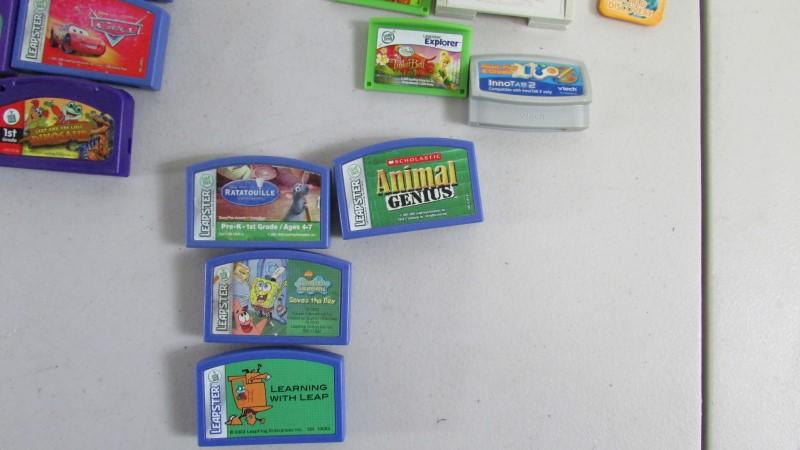 LEAPFROG VINTAGE LEAPPAD GAMES