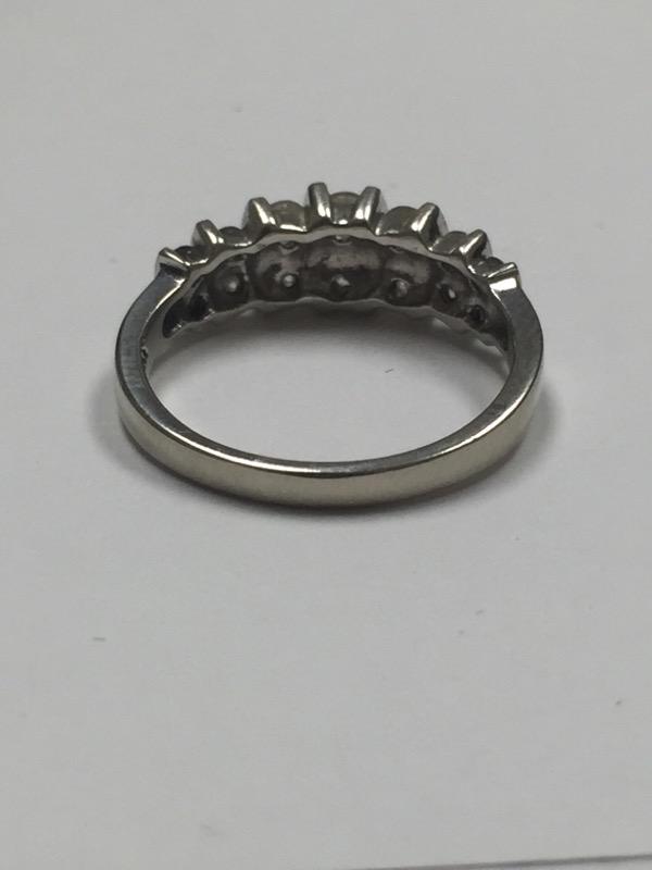 Lady's Diamond Fashion Ring 14 Diamonds .60 Carat T.W. 14K Yellow Gold 2.1dwt