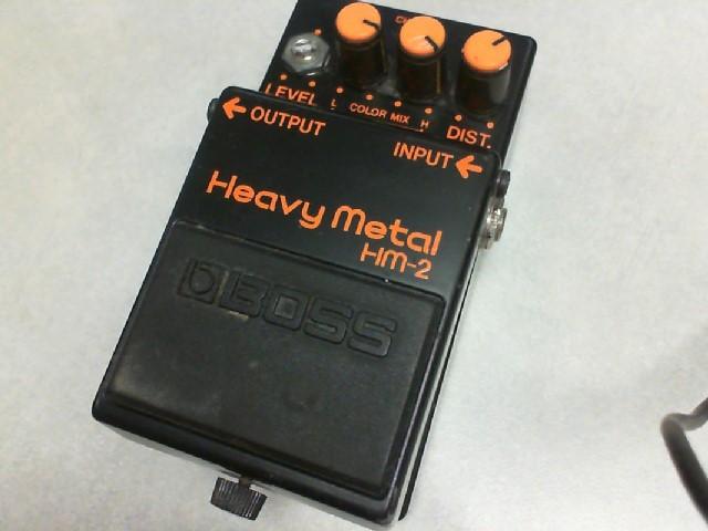 BOSS Effect Equipment HM-2 HEAVY METAL