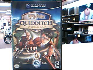 NINTENDO Nintendo GameCube Game HARRY POTTER QUIDDITCH WORLD CUP GAMECUBE