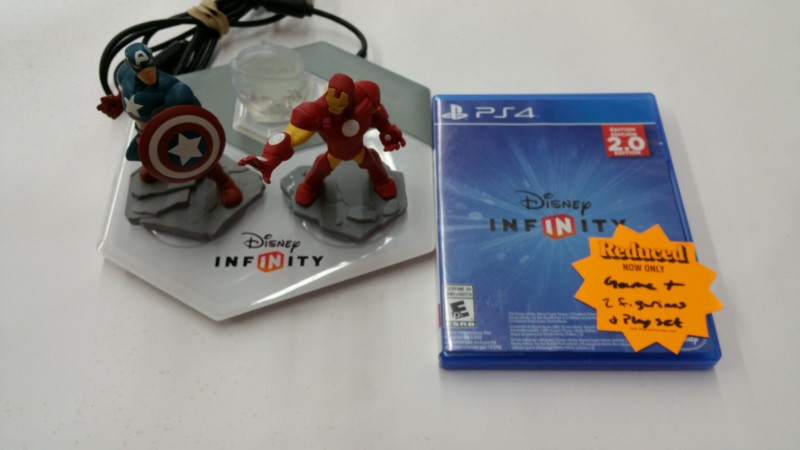 Disney Infinity - PS4 Game Set
